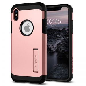 SPIGEN Tough ARMOR, rose gold - pro APPLE iPhone X