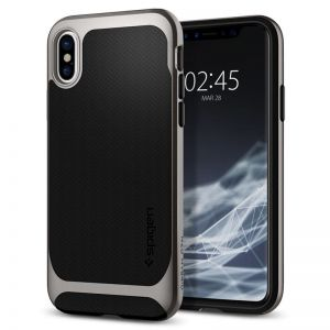 SPIGEN Neo Hybrid, gunmetal - pro APPLE iPhone X