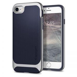 SPIGEN Neo Hybrid Herringbone, silver - pro APPLE iPhone 7 / 8