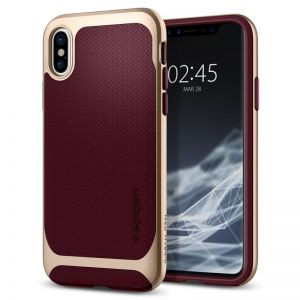 SPIGEN Neo Hybrid, burgundy - pro APPLE iPhone X