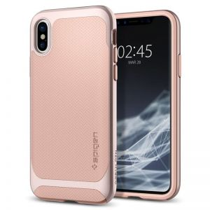 SPIGEN Neo Hybrid, pale dogwood - pro APPLE iPhone X