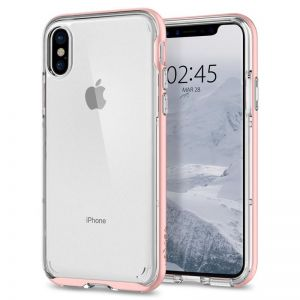 SPIGEN Neo Hybrid Crystal, rose gold - pro APPLE iPhone X