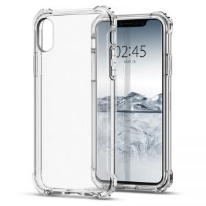 SPIGEN Rugged Crystal, clear - pro APPLE iPhone X