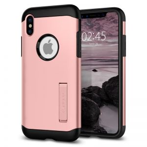 SPIGEN Slim ARMOR, rose gold - pro APPLE iPhone X