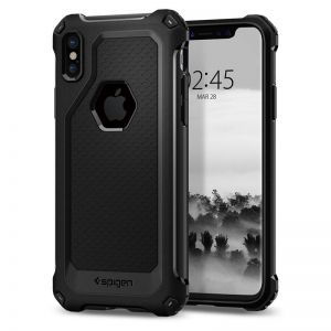 SPIGEN Rugged ARMOR Extra, black - pro APPLE iPhone X