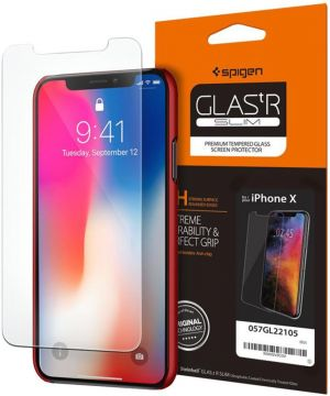 SPIGEN Screen Protector GLAS.tR SLIM - pro APPLE iPhone X