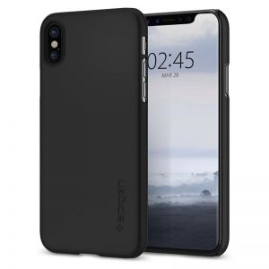 SPIGEN Thin Fit, black - pro APPLE iPhone X