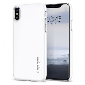 SPIGEN Thin Fit, white - pro APPLE iPhone X