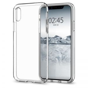 SPIGEN Liquid Crystal, clear - pro APPLE iPhone X
