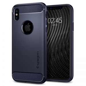 SPIGEN Rugged ARMOR, midnight blue - pro APPLE iPhone X
