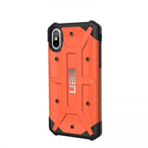 UAG pathfinder case Rust, orange - pro APPLE iPhone X