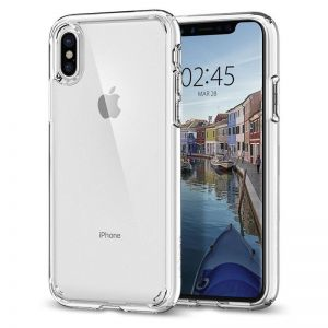 SPIGEN Ultra Hybrid, crystal clear - pro APPLE iPhone X