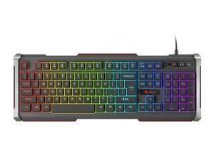 Genesis Rhod 400 RGB, US layout, 6-zónové RGB podsvícení