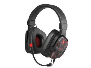 Herní stereo sluchátka Genesis Argon 570,černo-červené