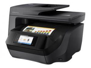 HP OfficeJet Pro 8725 AiO, 24/20ppm, 1200x1200dpi, USB, LAN, Wifi, Duplex , RADF, inkoust