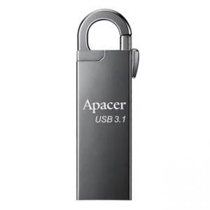 APACER USB Flash Drive, 3.1, 16GB, AH15A, stříbrný, AP16GAH15AA-1