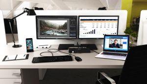 I-TEC USB 3.0 / USB-C 5K Univerzální dual dokovací stanice