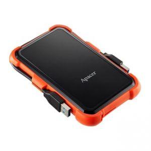 "APACER externí pevný disk, Portable, 2.5"", USB 3.1, 1TB, 1000GB, AP1TBAC630T-1, černý"