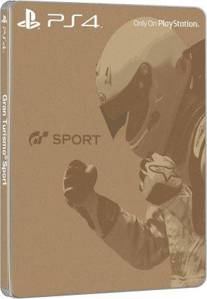 PS4 - Gran Turismo Sport + digit. bonusový balíček + zlatá SteelBook krabička