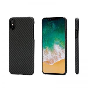 Pitaka Aramid case, black/grey - iPhone X