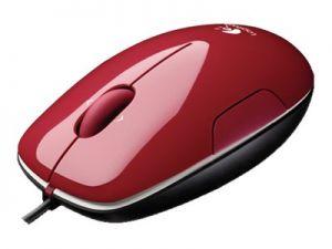 LOGITECH LS1 - Myš - pravák a levák - laser - kabelové - USB - skořice