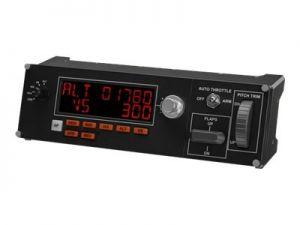 LOGITECH Multi Panel - Přístrojová deska leteckého simulátoru - kabelové - pro PC
