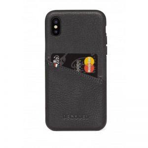 DECODED Leather Case, black - pro APPLE iPhone X