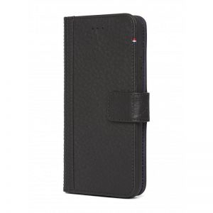 DECODED Leather Wallet Case, black - pro APPLE iPhone X