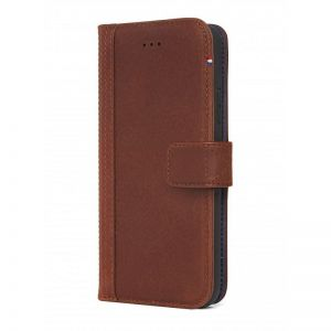 DECODED Leather Wallet Case, brown - pro APPLE iPhone X
