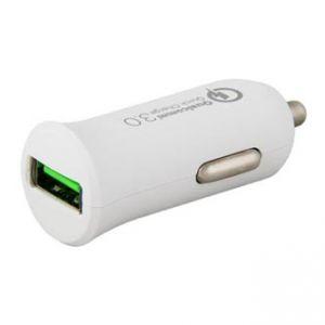 USB auto nabíječka, 12-24V (autozapalovač), 3,6-12V, 2000-3000mA, nabíjení mobilních telef