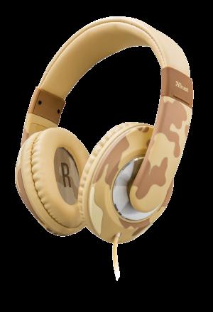 náhlavní sada TRUST Sonin Kids Headphone - desert