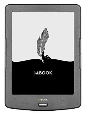 """Čtečka InkBOOK Classic 2 - 6"""", 4GB, 800x600, Wi-Fi, Black"""