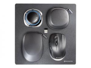 SpaceMouse Wireless Kit 3D mouse - 2 tlačítka - bezdrátový, kabelové