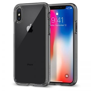 SPIGEN Ultra Hybrid, space crystal - pro APPLE iPhone X
