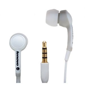 LENOVO in-ear sluchátka P165 bílé
