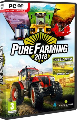 PC CD - Pure Farming 2018