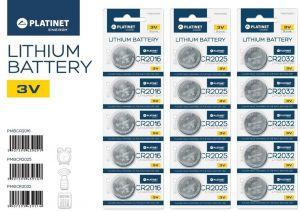 Platinet baterie CR2016 BLISTER*5ks