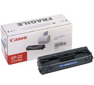 Tonerová cartridge CANON, black, EP22, 1550A003 - poškození obalu ktg. D (viz. popis)
