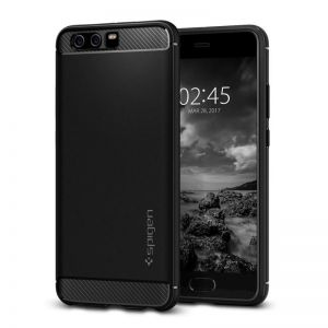 SPIGEN Rugged ARMOR, black - pro HUAWEI P10 Plus