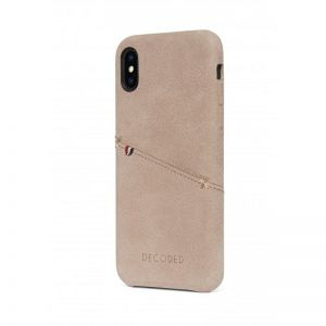 DECODED Leather Case, sahara - pro APPLE iPhone X