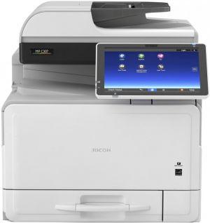 RICOH MP C307SPF 30 PPM, barevná multifunkce, fax, dotykový displej, 2 GB, LAN, Wi-Fi