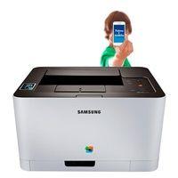 SAMSUNG SL - C430W A4,18/4ppm,USB, Ethernet,wifi, barevná laserová tiskárna