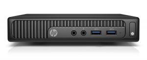 HP 260 G2 DM, i3-6100U, 1x4GB, 128GB, WiFi a/b/g/n + BT, HDMI+VGA, DOS, 1-1-1