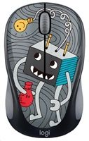 LOGITECHR Wireless Mouse M238 Doodle Collection - Lightbulb - EMEA