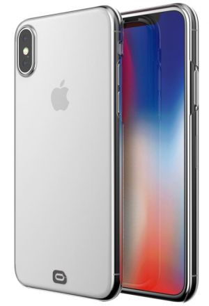 ODZU Crystal Thin Case, clear - pro APPLE iPhone X