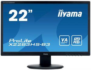 "IIYAMA ProLite X2283HS-B3 - LED monitor - 22"" (21.5"" zobrazitelný) - 1920 x 1080 Full HD ("