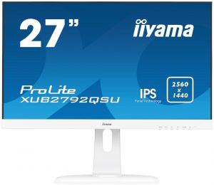 """IIYAMA ProLite XUB2792QSU-W1 - LED monitor - 27"""" - 2560 x 1440 - IPS - 350 cd/m2 - 1000:1"""