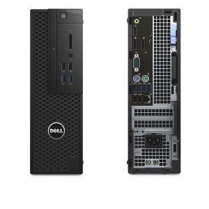 DELL Precision T3420 Xeon E3-1220 v5/16GB/256 SSD/2GB Quadro P600/DVD-RW/Win 7 + Win 10 Pr