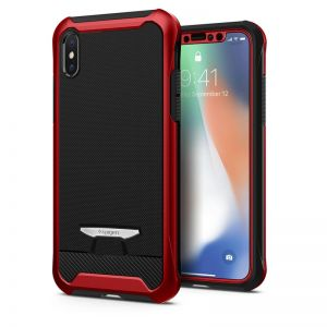 SPIGEN Signature Neo Hybrid, red - pro APPLE iPhone X