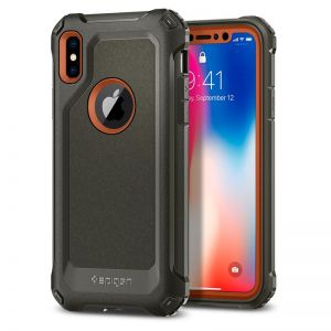 SPIGEN Signature Tough Armor, green - pro APPLE iPhone X